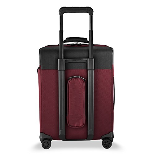 Briggs & Riley Transcend Wide Carry-on Expandable Spinner, Merlot by Briggs & Riley (Image #7)