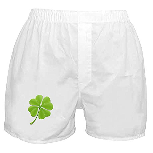 Royal Lion Boxer Short (Shorts) Beautiful Clover Shamrock - Medium (Shamrock Boxer Shorts)