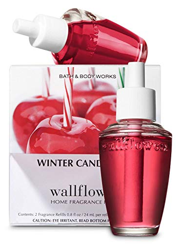 - Slatkin and Co. Winter Candy Apple Wallflower Refill pack of 2 bulbs