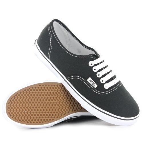 Vans Unisex Authentic Lo Pro Skate Shoe (40 M EU / 9 B(M) US Women / 7.5 D(M) US Men, Black/True White)