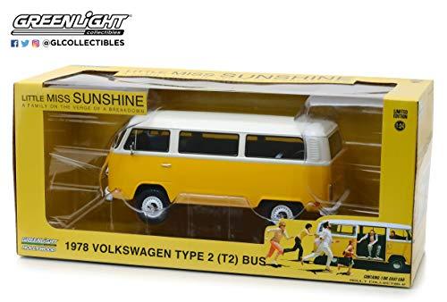 Greenlight 84081 1: 24 Little Miss Sunshine (2006) - 1978 Volkswagen Type 2 (T2B) Bus