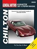 Chevrolet Corvette Chilton Automotive Repair Manual 97-13