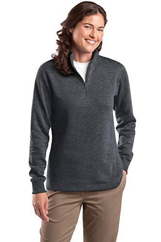 (Sport Tek LST253 Ladies Sweatshirt - Graphite Heather - XS)