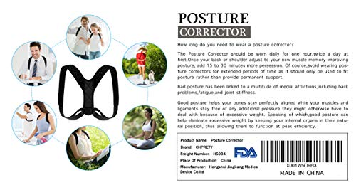 Posture Corrector for Men Women,Back Posture Brace for Men...