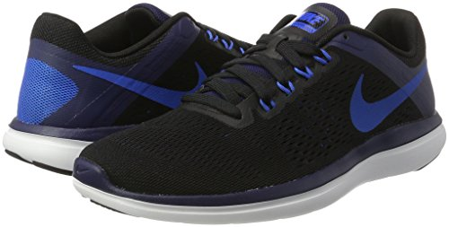 Blue Flex soar negro Nero 000 Nike Scarpe black white Rn Uomo Da binary 2016 Ginnastica gdwqwW7x