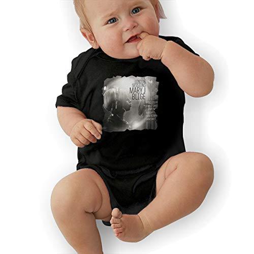 JosephG Toddler Mary J Blige The London Sessions Romper Bodysuit Outfits Black 0-3M -