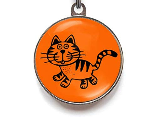 Wag-A-Tude Tags Kitty Cat Cat ID Tag