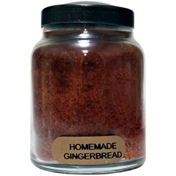 A Cheerful Giver Homemade Gingerbread Baby Jar Candle, 6-Ounce