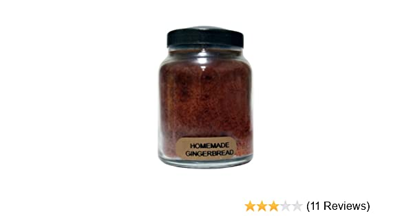 Amazon.com: A Cheerful Giver Homemade Gingerbread Baby Jar Candle, 6-Ounce: Home & Kitchen