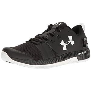 Under Armour Men's Commit Training Shoes, Black/White, 9 D(M) US