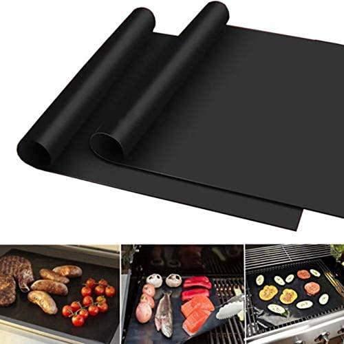 Tapis de Cuisson Tapis Barbecue 3pcs Hot Anti-Stick BBQ Barbecue Mat Set Outdoor Party Teflon Heat Resistance Magic Grill Mat Tool Kitchen 330 * 400 * 0.2mm 2020