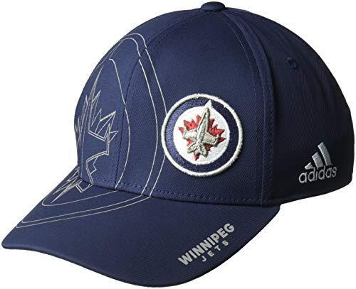 Jets Hat Winnipeg - NHL Winnipeg Jets Second Season Structured adj Hat, Small/Medium, Navy