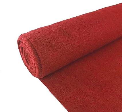 Car Carpet 5 Yards Red Upholstery Un-Backed Car Rug Durable Automotive Trim Carpet Car