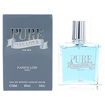 Pure Dreamer Eau De Toilette Spray for Men 3.4oz/100ml