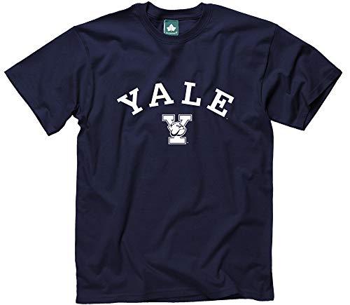 Ivysport Yale University Short-Sleeve T-Shirt, Athletic, Navy, Small Athletic Vintage Sport Shirt