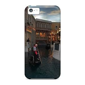 Unique Design Iphone 5c Durable Cases Covers Gondola Ride