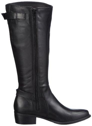 001 Biker Boots black Schwarz Tamaris Women's Aqg64O4nw