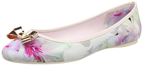 Donna EU Imme Taglia Ballerine Baker Floral Multicolore Ted 2 da 5 Swirl 38 UK XPF6xHwq