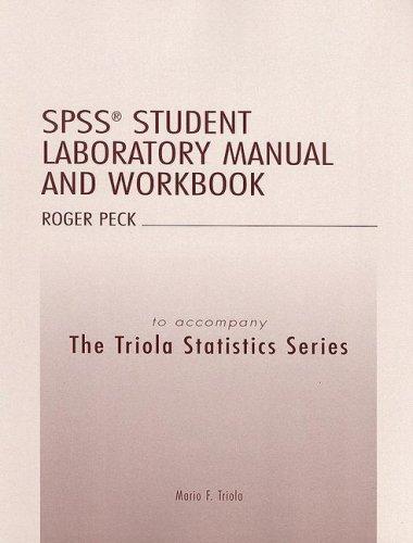 Download The Triola Statistics Series Student Laboratory Manual and Workbook pdf epub
