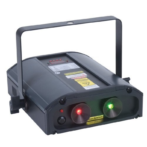 American DJ Galaxian 3D Red and Green Laser