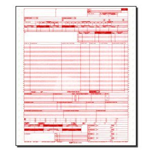 CMS 1450 / Ub04 Medical Billing Forms (2500 Sheets) by Salemax