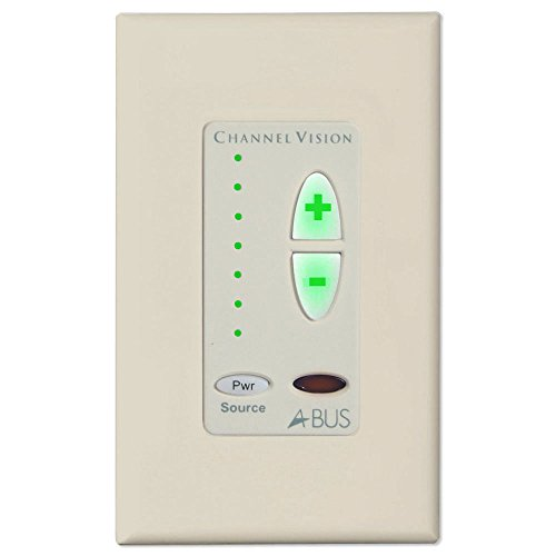 Channel Vision A-BUS 1-Source Amplified Keypad, Almond (Channel Vision Abus)