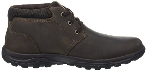 Rockport Trail Technique Waterproof Mid, Stivali Desert Boots Uomo Marrone (Dark Brown)