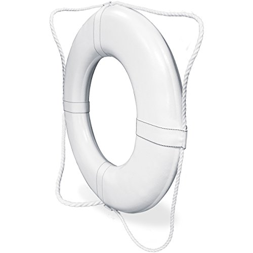 Poolmaster 55551 Coast Guard Approved Ring Buoy, 30'' Diameter by Poolmaster (Image #1)
