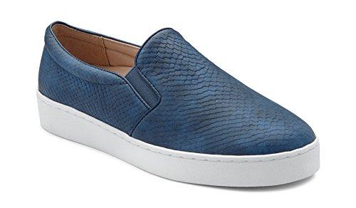 Women's Midi Vionic Snake Slip on Splendid Snake Sneaker Blue d4qwgEqr