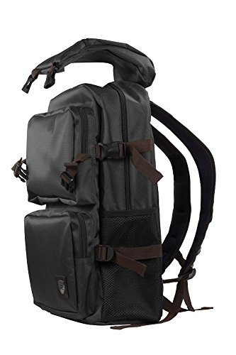 Klip Xtreme Outback Premium Laptop Backpack-Water Resistant Polyester Fabric-Fits up to 15.6