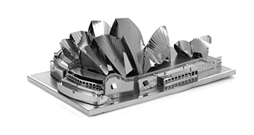Fascinations Metal Earth Sydney Opera House Building 3D Metal Model Kit