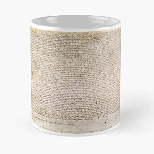 Magna Carta The Great Charter Libertatum - Best Gift Ceramic Coffee Mugs