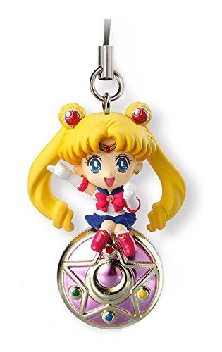 Bandai Shokugan Sailor Moon Twinkle Dolly (Volume 1) Sailor Moon with Crystal Star Deformed Mascot Charm