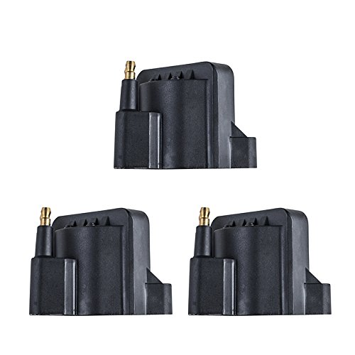(GIC123K NEW IGNITION COIL Set of 3 Fits Various Buick/Chevrolet Camaro/Impala/Lumina/Monte Carlo/Oldsmobile 88 3.3L/3.8L 1991-2003 DR-39)