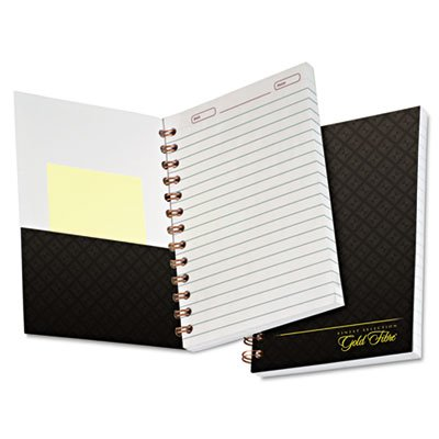 Ampad : Gold Fibre Personal Notebooks, College/Med Rule, 5 x 7, WE/BY, 130 Sheets -:- Sold as 2 Packs of - 1 - / - Total of 2 Each
