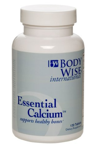 - Essential Calcium - Supports Healthy Bones - 120 Tablets by Bodywise