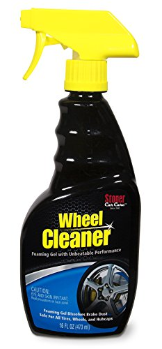 Stoner Car Care 92207 Wheel Cleaner, Tire and Wheel Care, Deep-Cleaning Foaming Gel, Dissolves Brake Dust, 16-Fluid Ounces, Set of 1