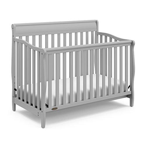 Graco Stanton 4-in-1 Convertible Crib Pebble Gray