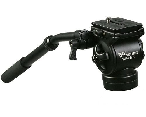 ePhoto Professional Video Camera Fluid Drag Tripod Head by ePhoto INC 717AH
