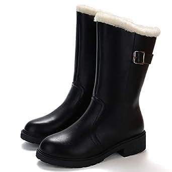 Amazon.com: COPPEN Women Boot Winter Martin Mid-Calf Snow
