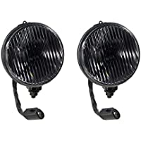 1987-1993 Mustang GT or Cobra Complete Smoked Fog Lights...