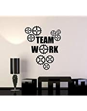Teamwork Quotes for Office, Wall Decals, Home Decor, Waterproof Wall Stickers