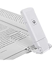DEWENWILS Mini USB Rechargeable Book Light, 2 Level Brightness for Eye Protection, Daylight, LED Clip on Flexible Book Reading Lights, Bookmark with Light for Night Reading, Perfect for Bookworms, Kids