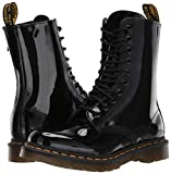 Dr. Martens Women's 1490 Combat Boot, Black