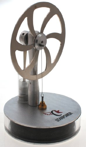 Ultra Low Temp Stirling Engine Can Even Run Off the Temperature of Your Hand