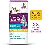 Comfort Zone New Formula Multicat Refill for Cat Calming, 2 Pack
