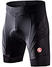 Eco-daily Men's Cycling Shorts Padded Bicycle Riding Half Pants Bike Biking Cycle Tights