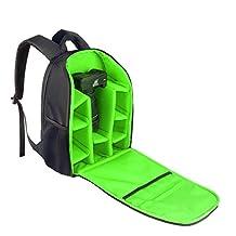 INDEPMAN Digital Camera Lenses Tripod Case DSLR/SLR Camera Bag Backpack
