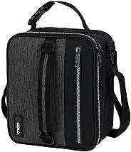 OPUX Premium - Fiambrera aislada para hombre, bolsa de almuerzo para niños y niños, cubo de almuerzo compacto
