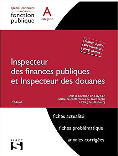Comment devenir inspecteur des douanes, des finances publiques ou du travail